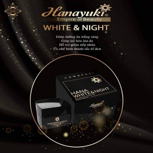 Kem trắng da ban đêm Hanayuki