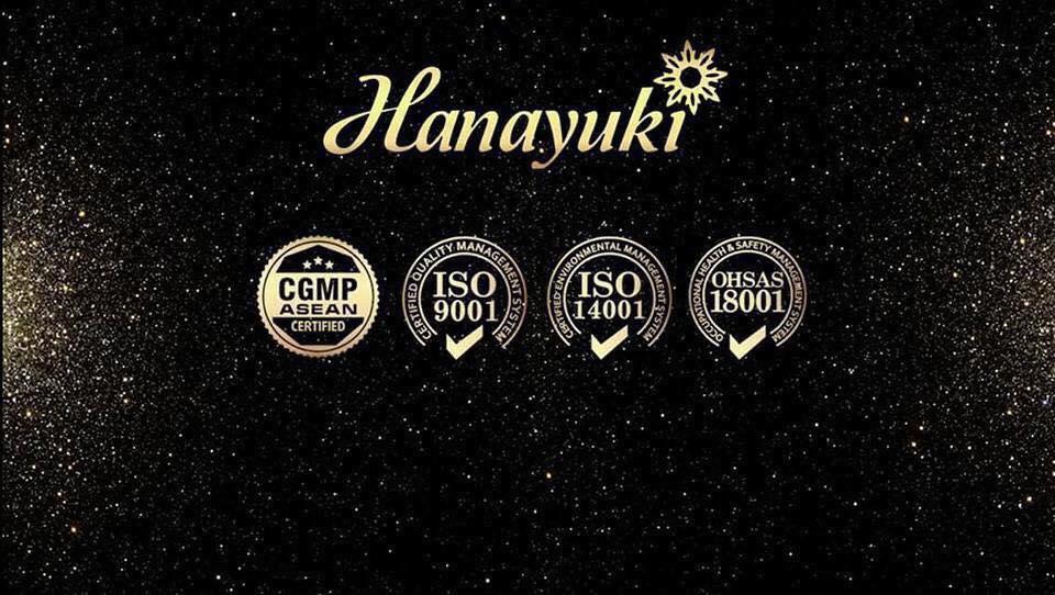 Chứng nhận Hanayuki