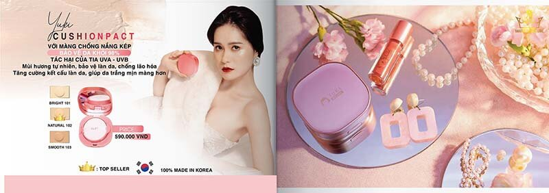 Phấn nước Hanayuki Cushion Fact